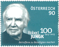 Austria - Robert Jungk (1) * - Mint stamp