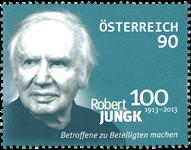 Østrig - Robert Jungk - Postfrisk frimærke