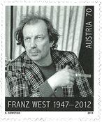 Autriche - Franz West - Timbre neuf