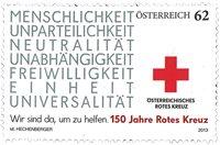 Østrig - Røde Kors - Postfrisk frimærke