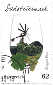 Østrig - Südsteiermark - Stemplet frimærke
