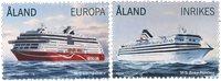 Åland - Bateaux pour passagers - Série neuve 2v