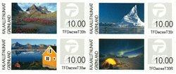 Groenland - Vignettes d'affranchissement 2014 - Série neuve 4v