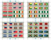 FN flag 1982 ark - Postfrisk