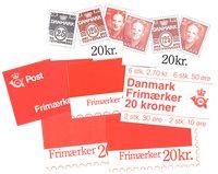 Danemark - Carnets de timbres - 7 différents