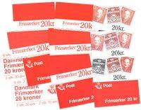 Danemark - Carnets de timbres - 13 différents