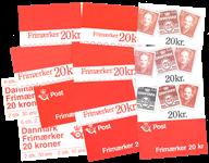 Danmark - AFA nr. H26-37 - Frimærkehæfter 13 forskellige