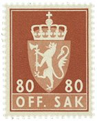 Norvège - AFA TJ86 - Neuf