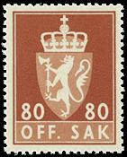 Norge - Postfrisk - AFA nr. tj86