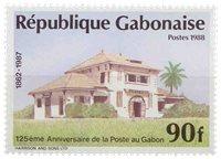 Gabon - Poste au Gabon