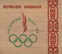 Gabon - Jeux Olympiques Mexico