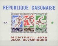 Gabon - Jeux Olympiques Montréal