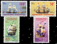 Gabon - Navires d'autrefois