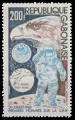 Gabon - 5 ans du 1er pas sur la lune