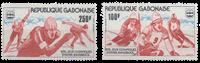 Gabon - Jeux Olympiques Innsbruck