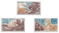Gabon - 200 ans indépendance USA