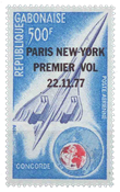 Gabon - Concorde Paris-New York