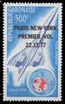 Gabon - Concorde Paris-New York