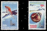 Gabon - Jeux Olympiques Lake Placid