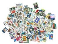 Nouveau ! Finlande 400 timbres différents grand format