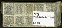 Danmark 1934 - 10 bundter - AFA 209 - Stemplet