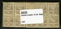 Danmark 1937 - 10 bundter - AFA 235 - Stemplet