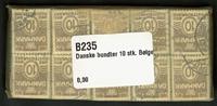 Danmark - bundter - Bølgelinie 10 øre - 10 stk.