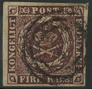 Danemark 1853 - 4 RBS Impression Thiele II