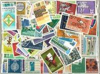 280 francobolli differenti Suriname