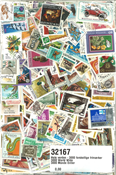 Worldwide - 3000 different stamps
