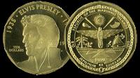 Elvis 1995 - 10 dollar mønt