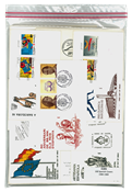 100 FDC e cartoline differenti Spagna 1980/89