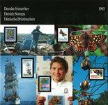 Danemark - Livre annuel 1993
