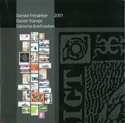 Danemark - Livre Annuel 2001
