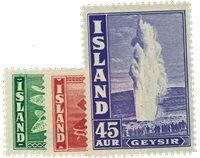 Island 1940 - AFA nr.216-18 postfrisk