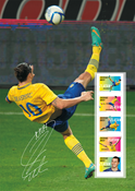 Suède - Zlatan Ibrahimovic - Feuille collectionneur
