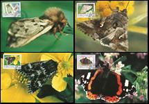 Îles Féroé - Papillons - Carte maximum