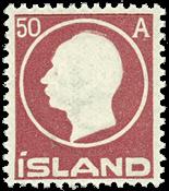 Island 1912 - 50 AUR - Frederik VIII - Postfrisk