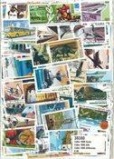 1000枚不同古巴邮票