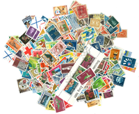 Curacao/Dutch Antilles 500 different stamps