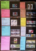 Nederland - Postzegelmapjes jaar 1987 compleet (nrs. 43-52,postfris)