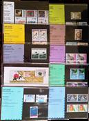 Nederland - Postzegelmapjes jaar 1988 compleet (nrs. 53-61,postfris)
