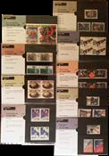 Nederland - Postzegelmapjes jaar 1991 compleet (nrs. 80-89,postfris)