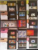 Nederland - Postzegelmapjes jaar 1994 compleet (nrs. 117-130,postfris)