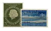 Nederlandse Antillen - jaargang 1954 (nr.246-247, postfris)