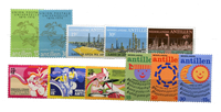 Nederlandse Antillen - jaargang 1974 (nr.485-499, postfris)