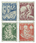 Holland 1930 - NVPH R86-R89 - Ubrugt
