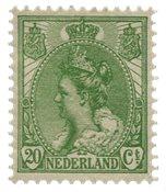 Holland - NVPH 68 - Ubrugt