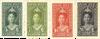 Curacao - 4 waardes uit Jubileumserie 1923 (nr. 75-78, ongebruikt)