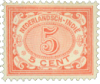 Hollandsk Ostindien - 5 ct rød 1902-1909 (nr. 46 ) - Postfrisk